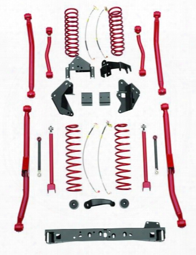 2010 Jeep Wrangler (jk) Rancho 4 Inch Long Arm Suspension Lift Kit