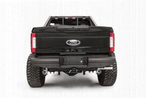 Fab Fours Fab Fours Black Steel Elite Rear Bumper (black) - Fs17-u4150-1 Fs17-u4150-1 Rear Bumpers
