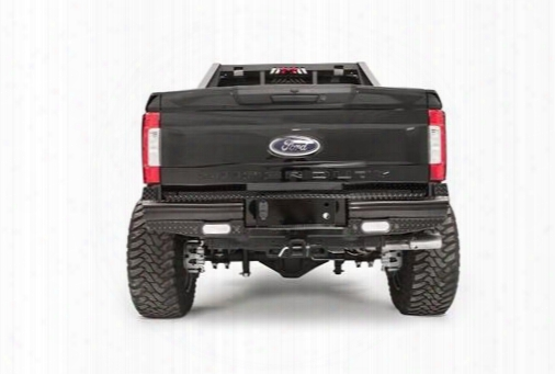 Fab Fours Fab Fours Black Steel Rear Replacement Bumper (black) - Fs17-t4150-1 Fs17-t4150-1 Rear Bumpers