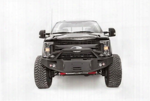 Fab Fours Fab Fours Premium Winch Front Bumper With Pre-runner Guard (black) - Fs17-a4152-1 Fs17-a4152-1 Front Bumpers