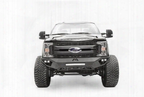 Fab Fours Fab Fours Vengeance Series Front Bumper (bare) - Fs17-v4151-b Fs17-v4151-b Front Bumpers