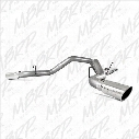 2005 DODGE RAM 3500 MBRP Installer Series Cool Duals Cat Back Exhaust System