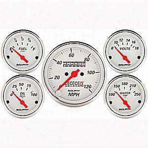Auto Meter Auto Meter Street Rod 5 Gauge Set - 1311 1311 Gauge Set