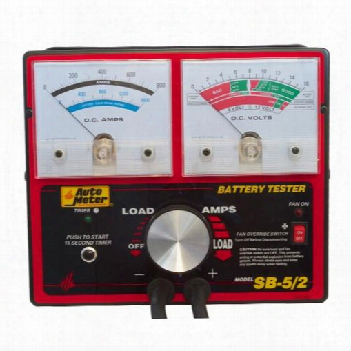 Auto Meter Battery/electrical System Tester Sb-5/2 Battery Tester