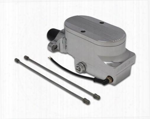 Stainless Steel Brakes Stainless Steel Brakes Combo Billet Aluminum Dual Bowl Master Cylinder - A0473-2 A0473-2 Brake Master Cylinder