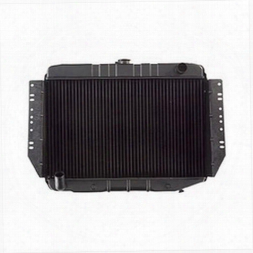 Omix-ada Omix-ada Replacement 2 Core Radiator For 5.9l & 6.6l V8 Engines With Automatic Transmission - 17101.32 17101.32 Radiator