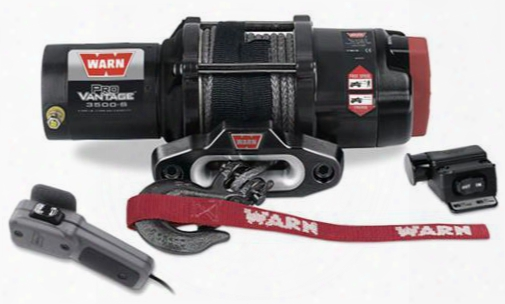 Warn Warn Provantage 3500-s Winch (synthetic Rope) - 90351 90351 3,000 To 6,000 Lbs. Atv Winches