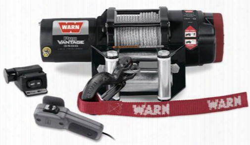 Warn Warn Provantage 3500 Winch (wire Rope) - 90350 90350 3,000 To 6,000 Lbs. Atv Winches