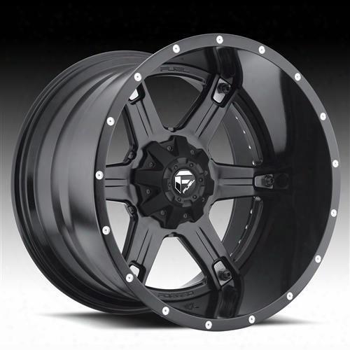 Mht Fuel Offroad Wheels Mht Fuel Offroad Driller, 20x10 Wheel With 8 On 170 Bolt Pattern - Black Matte - D25620001747 D25620001747 Mht Fuel Off Road W