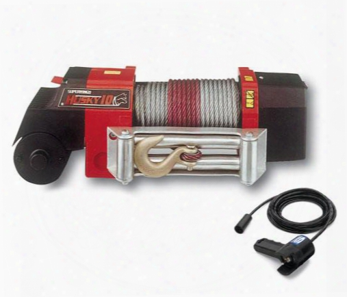 Superwinch Superwinch Husky 10 Winch - 2404a 2404a 8,000 To 10,500 Lbs. Electric Winches