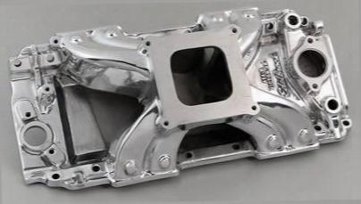 Edelbrock Edelbrock Victor Jr 454-r Intake Manifold (polished) - 29021 29021 Intake Manifold