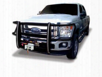 Go Rhino Go Rhino Winch Bumper Grille Guard With Brush Guard For Ford (black) - 23370mb 23370mb Grille Guards