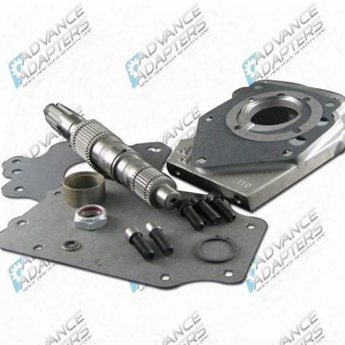 Advance Adapters Advance Adapters Ford T&c Ran 3 Speed Transmission To Dana 18/20 Transfer Case Adapter - 50-2200 50-2200 Transmission Adapters