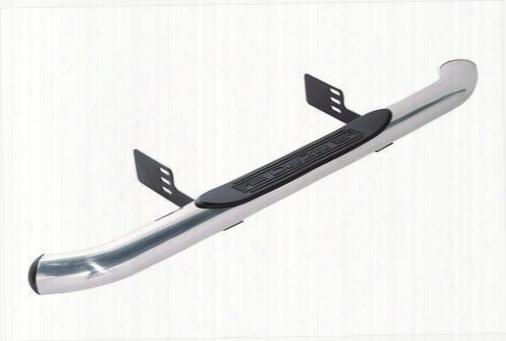 Dee-zee Dee Zee Ultrashine Aluminum 4 Inch Oval Side Steps (stainless Steel) - Dz150026 Dz150026 Nerf Steps