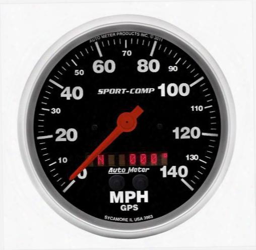 Auto Meter Auto Meter Sport-comp Gps Speedometer - 3983 3983 Gauges