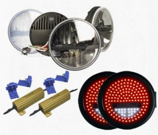 Genuine Packages Led Light Package (chrome) - Ligwr9715 Ligwr9715 Offroad Racing, Fog & Driving Lights