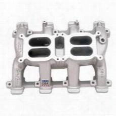 Edelbrock Edelbrock Super Dual Manifold Intake Manifold (polished) - 11001 11001 Intake Manifold