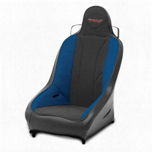 Mastercraft Safety Mastercraft Safety 1 Inch Wider Pro 4 Seat Withfixed Headrest (black/ Blue) - 565113 565113 Seats