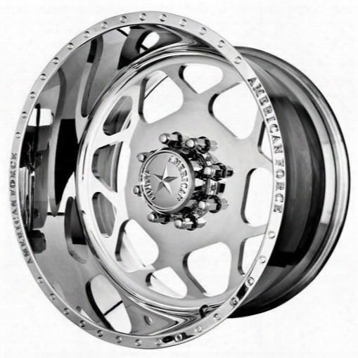 American Force Wheels American Force 22x12 Wheel Bison Ss - Polish- Aft50450 Aft50450 American Force Wheels
