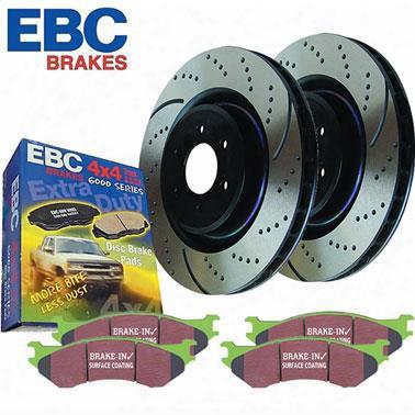 Ebc Brakes Ebc Brakes Stage 3 Truck And Suv Brake Kit - S3kf1001 S3kf1001 Disc Brake Pad And Rotor Kits