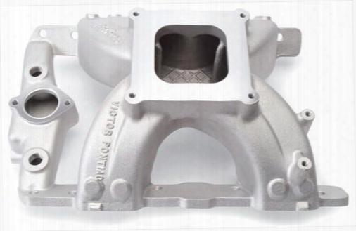 Edelbrock Edelbrock Victor Pontiac Intake Manifold (natural) - 2957 2957 Intake Manifold