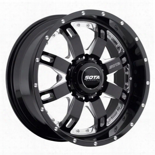 Sota Offroad R.e.p.r., 20x9 With 8 On 6.5 Bolt Patter N- Death Metal 565dm-20986_00 Sota Offroad Wheels