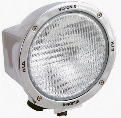 Vision X Lighting Vision X Lighting 6500 Series 6.7 Inch Round Flood Beam Hid - 4003347 4003347 Offroad Racing, Fog & Driving Lights