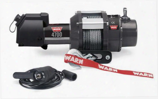 Warn Warn 4700 Dc Winch - 94700 94700 3,000 To 6,000 Lbs. Utility Winches