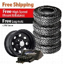 Genuine Packages Maxxis Big Horn Tire 35X12.50R15LT and Pro Comp Wheel 15x8 Package - Set of 4 - TirePKG9 TIREPKG9 Tire and Wheel Packages