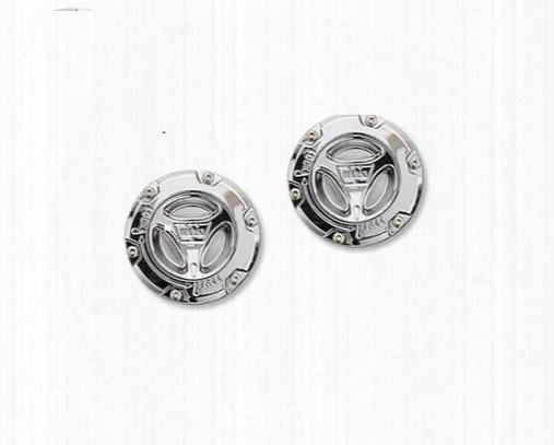 Warn Warn Preminum Super Duty Manual Locking Hubs Chrome (chrome ) - 95070 95070 Locking Hubs