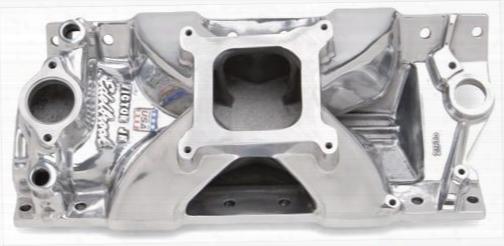 Edelbrock Edelbrock Victor Jr Series Intake Manifold (polished) - 29751 29751 Intake Manifold