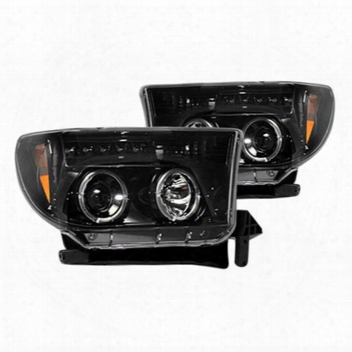Recon Recon Projector Headlights (black) - 264194bk 264194bk Headlights, Housings And Conversions