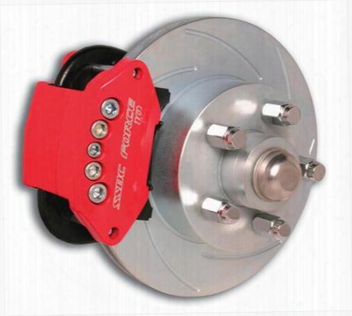 Stainless Steel Brakes Stainless Steel Brakes Sporttwin 2-piston Disc Brake Kit (anodized) - A148-a A148-a Disc Brake Conversion Kits