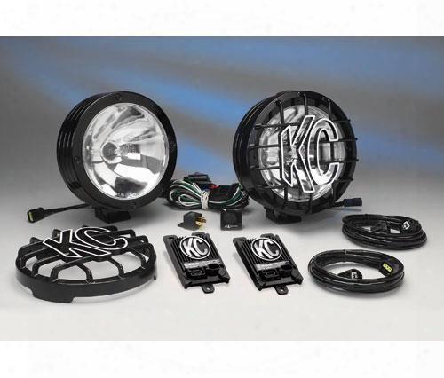 Kc Hilites Kc Hilites 8 Inch Hid Long Range Kit - 861 861 Offroad Racing, Fog &  Driving Lights