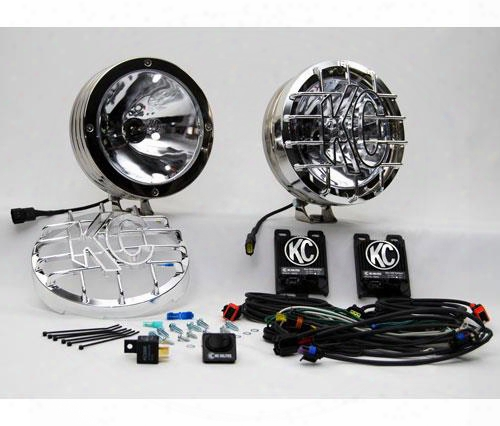 Kc Hilites Kc Hilites 8 Inch Rally 800 Stainless Long Range Lights - 860 860 Offroad Racing, Fog & Driving Lights