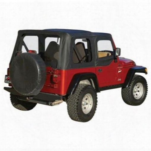 Rt Off-road Rt Off-road Complete Soft Top (black Diamond) - Ct20135 Ct20135 Soft Tops
