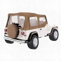 RT Off-Road RT Off-Road Complete Soft Top with Upper Soft Doors (Spice) - CT20037 CT20037 Soft Tops