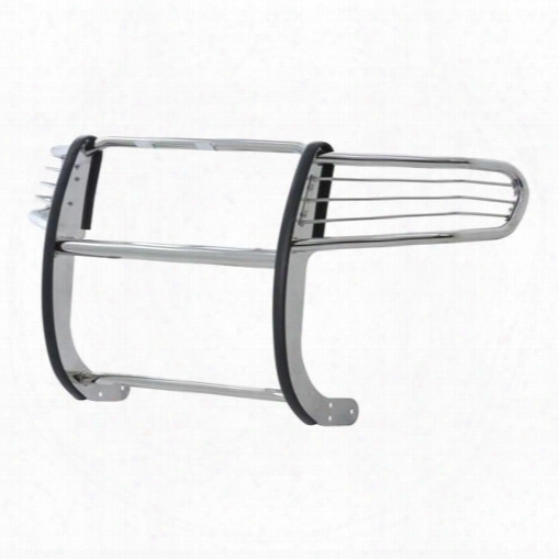 Aries Offroad Aries Offroad Bar Grille/brush Guard (stainless Steel) - 6055-2 6055-2 Nerf/step Bar Wheel To Wheel