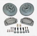 Stainless Steel Brakes Stainless Steel Brakes Tri-Power 3-Piston Disc To Disc Upgrade Kit (Anodized) - A165-2 A165-2 Disc Brake Conversion Kits