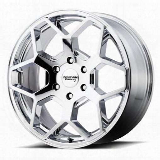 American Racing Wheels Ar916, 22x9 W Heel With 6 On 5.5 Bolt Pattern - Chrome Ar91622968230 American Racing Wheels