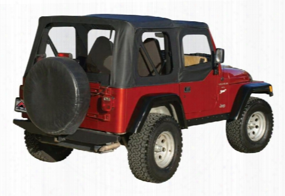 Rt Off-road Rt Off-road Replacement Soft Top (black Diamond) - Rt10335 Rt10335 Soft Tops
