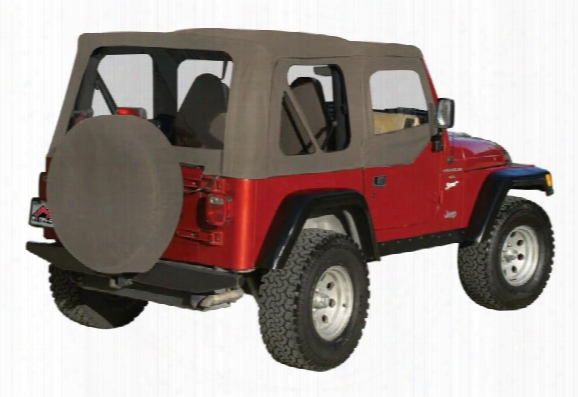Rt Off-road Rt Off-road Replacement Soft Top (khaki Diamond) - Rt10336 Rt10336 Soft Tops
