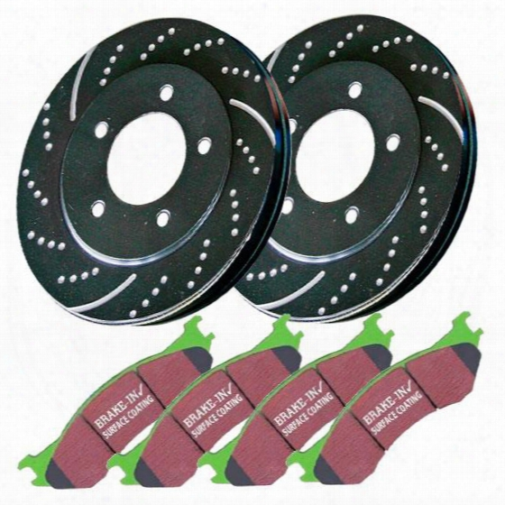 Ebc Brakes Ebc Brakes Stage 3 Truck And Suv Brake Kit - S3kr1117 S3kr1117 Disc Brake Pad And Rotor Kits