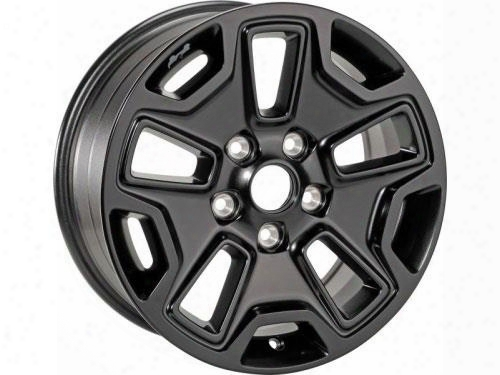 Jeep Jeep Willys Series Wheel,17x7.5 With 5 On 5 Bolt Pattern - Black (black) - 5lw63dx8aa 5lw63dx8aa Chrysler Factory Aluminum Wheels