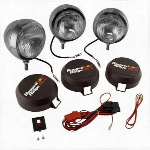 Rugged Ridge Rugged Ridge Hid Off Road Lighting - 15206.61 15206.61 Offroad Racing, Fog & Driving Lights