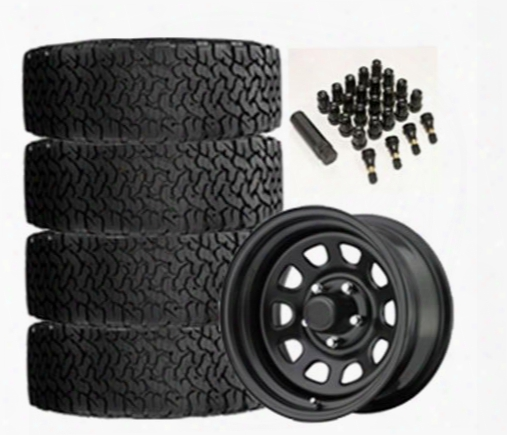 Genuine Packages Bf Goodrich All-terrain T/a Ko2 31x10.50r15 And Trail Master Tm5 15x8 Wheel Package - Set Of 4 - Tirepkg163 Tirepkg163 Tire And Wheel