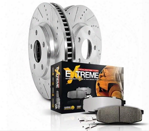 Power Stop Power Stop 1-click Brake Kit - K2220-36 K2220-36 Disc Brake Pad And Rotor Kits