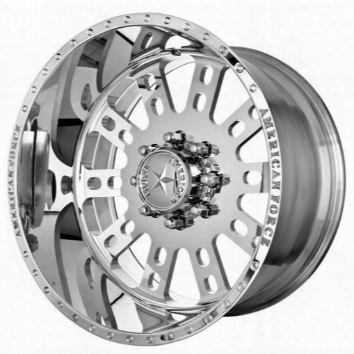 American Force Wheels American Force 20x10 Wheel Fusion Ss - Polish- Aft10577 Aft10577 American Force Wheels