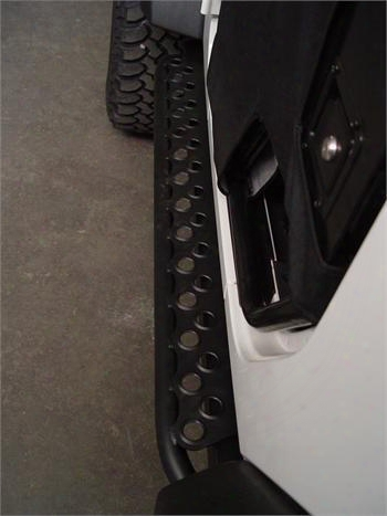 Tnt Customs Tnt Customs Adventure Steps (bare Steel) - J2rsk J2rsk Rock Sliders And Guards
