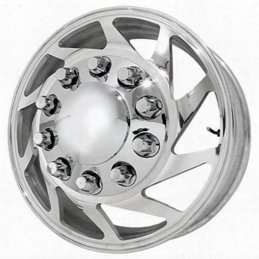 American Force Wheels American Force 24x8.25 Wheel Typhoon Kit - Polish - Af500369 Af500369 American Force Wheels